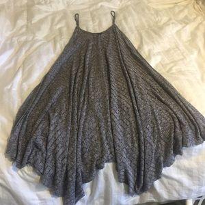 Salt and Pepper spaghetti strap Dress or Cover